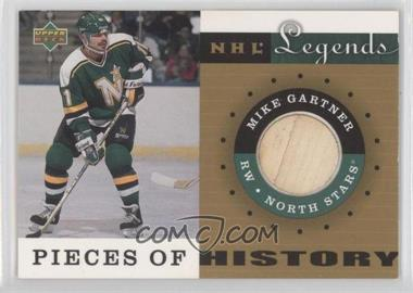 2001-02 Upper Deck Legends - Pieces of History Sticks #PH-MG - Mike Gartner