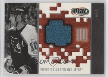 2001-02 Upper Deck Play Makers Limited - Player's Club Practice Jersey #PJ-JL - John LeClair
