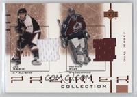 Patrick Roy, Joe Sakic #/100