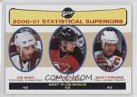 Statistical Superiors - Joe Sakic, Patrik Elias, Scott Stevens