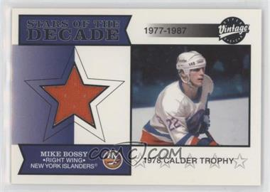 2001-02 Upper Deck Vintage - Stars of the Decade #SD-MB - Mike Bossy
