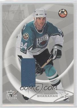 2002-03 In the Game Be A Player All-Star Edition - Jerseys - Silver #AS-86 - Brendan Shanahan /30