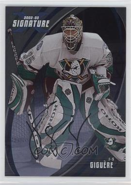 2002-03 In the Game Be A Player Signature Series - [Base] - Signatures [Autographed] #076 - J - S Giguere