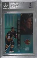 Jason Spezza [BGS 9 MINT] #/250