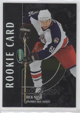 2002-03 In the Game Parkhurst - [Base] - Silver #202 - Rick Nash /50