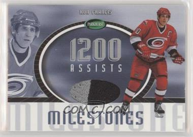 2002-03 In the Game Parkhurst - Milestones #MS-7 - Ron Francis /60