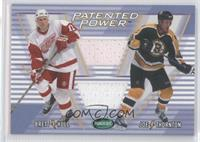 Brett Hull, Joe Thornton #/20