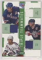 Eric Lindros, Brian Leetch, Pavel Bure #/60