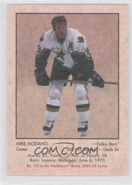 2002-03 In the Game Parkhurst Retro - [Base] #12 - Mike Modano