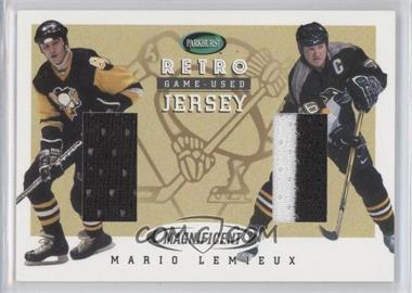 2002-03 In the Game Parkhurst Retro - Magnificent Game-Used Jersey #MI-5 - Mario Lemieux