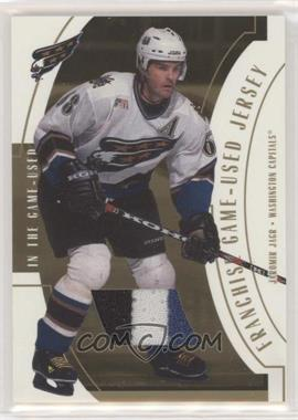 2002-03 In the Game-Used - Franchise Jersey - Gold #FR-30 - Jaromir Jagr