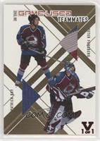 Patrick Roy, Peter Forsberg [Noted] #/1