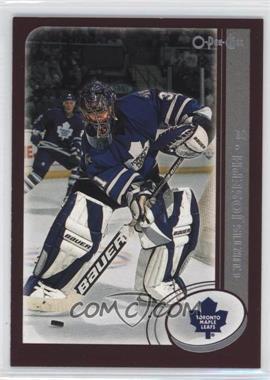 2002-03 O-Pee-Chee - [Base] #212.1 - Curtis Joseph (Toronto)