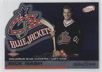 Rick Nash #/1,300