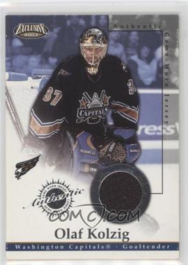 2002-03 Pacific Exclusive - Game-Worn Jerseys #25 - Olaf Kolzig