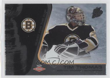 2002-03 Pacific Quest for the Cup - [Base] #106 - Tim Thomas /950
