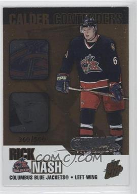 2002-03 Pacific Quest for the Cup - Calder Contenders - Draft 2005 #6 - Rick Nash /500