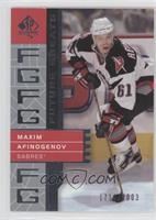 Maxim Afinogenov #/2,003