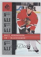Matt Henderson /900