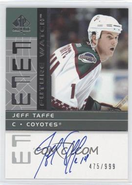 2002-03 SP Authentic - [Base] #192 - Jeff Taffe /999