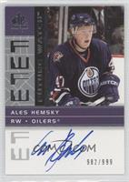 Ales Hemsky /999