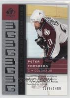 Peter Forsberg #/1,499