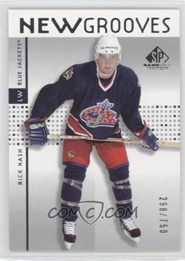 2002-03 SP Game Used - [Base] #73 - Rick Nash /750
