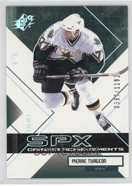 2002-03 SPx - [Base] #134 - Pierre Turgeon /1192