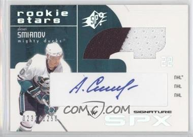 2002-03 SPx - [Base] #146 - Alexei Smirnov /1250