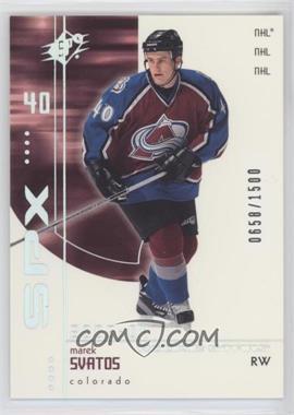 2002-03 SPx - Rookie Redemptions #R196 - Marek Svatos /1500