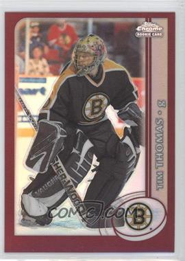 2002-03 Topps Chrome - [Base] - Refractor #162 - Tim Thomas