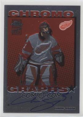 2002-03 Topps Chrome - Chromographs - [Autographed] #CG-CJ - Curtis Joseph