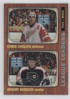 Chris Chelios, Jeremy Roenick