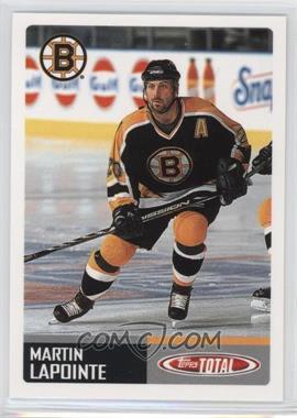 2002-03 Topps Total - [Base] #308 - Martin Lapointe