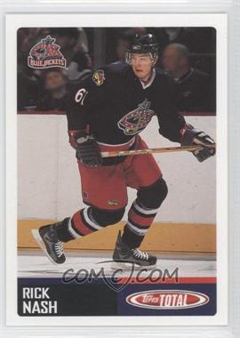 2002-03 Topps Total - [Base] #414 - Rick Nash