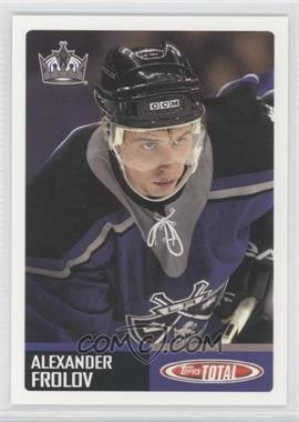 2002-03 Topps Total - [Base] #416 - Alex Frolov