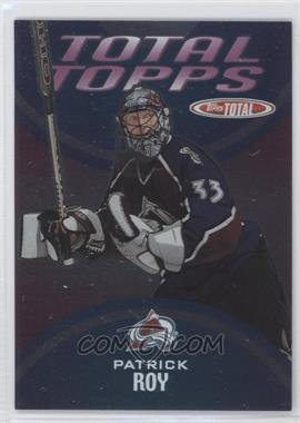 2002-03 Topps Total - Total Topps #TT2 - Patrick Roy