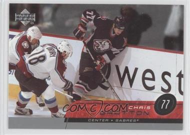 2002-03 Upper Deck - [Base] #265 - Chris Gratton