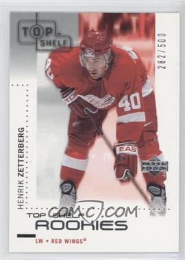 2002-03 Upper Deck - Top Shelf #127 - Henrik Zetterberg /500