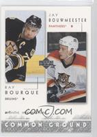 Ray Bourque, Jay Bouwmeester