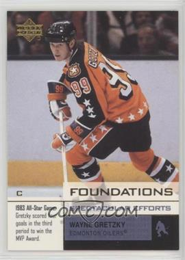 2002-03 Upper Deck Foundations - [Base] - Without Serial Number #101 - Wayne Gretzky /1250