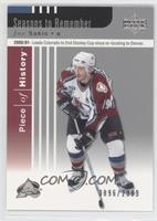 Joe Sakic #/2,999