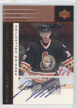 2002-03 Upper Deck Premier Collection - Signatures - Bronze #S-SP - Jason Spezza