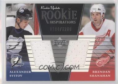 2002-03 Upper Deck Rookie Update - [Base] #149a - Alexander Svitov, Brendan Shanahan /1200