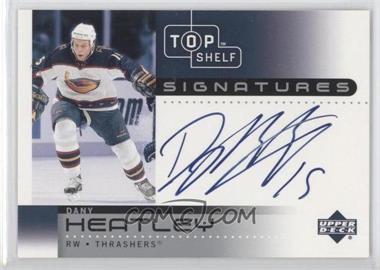 2002-03 Upper Deck Top Shelf - Signatures #DH - Dany Heatley