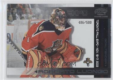 2002 Pacific Toronto Fall Expo - [Base] #5 - Nikolai Khabibulin /500