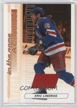 2003-04 In the Game Action - Game-Used Jerseys #M-165 - Eric Lindros /100