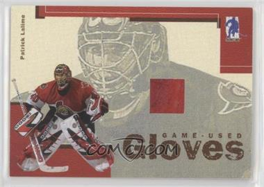 2003-04 In the Game Be A Player Memorabilia - Game-Used Gloves #GUG-5 - Patrick Lalime /30
