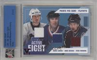 Mario Lemieux, Mark Messier, Peter Forsberg /1 [Uncirculated]