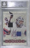 Mike Richter, Gerry Cheevers [BGSEncased] #/30
